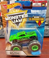 Hot Wheels 2017 Monster Jam inc. Re-Crushable Car 2/15 GAS MONKEY GARAGE (A+/A)