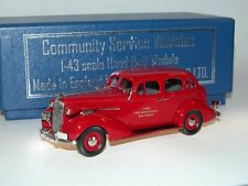 Brooklin Models CSV 11, 1936 Buick Special BALTIMORE FIRE CHIEF, 1/43