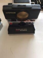 Polaroid Time Zero SX-70 Autofocus SLR Black/Chrome