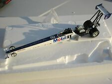 """1995 RCCA Tom """"The Mongoose"""" McEwen Mobil One Dragster Autographed 1:24th Scale"""