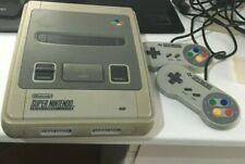 Consola Nintendo SNES Super Nintendo PAL completa 2 MANDOS + CABLES