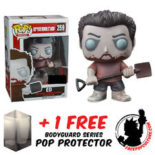 FUNKO POP VINYL SHAUN OF THE DEAD ZOMBIE ED EXCLUSIVE + FREE POP PROTECTOR