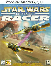 Star Wars Episode I 1 Racer 1999 PC Video Game