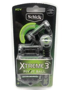 Schick Xtreme Pivot Ball Razor with 5 Cartridges - Free Post - New