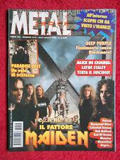 rivista METAL SHOCK 212/1996 Deep Purple End Of Green Monster Paradise Lost Nocd