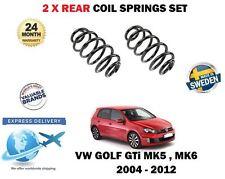 FOR VW VOLKSWAGEN GOLF 2.0 GTI MK5 MK6 OE: 1K0511115EB 2 x REAR COIL SPRING SET