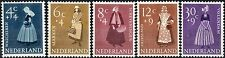 Netherlands.  1958  Culture and Social Relief Fund.  SG862-866.  Mint.