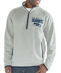 "Seattle Seahawks G-III NFL ""Deep Out"" 1/4 Zip Premium Men's Sweatshirt"