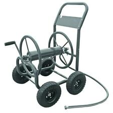 4 Wheel Garden Water Hose Reel Cart Outdoor Heavy Duty Yard Planting Storage New