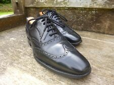 CHEANEY OXFORD BROGUES – BLACK  - UK 8 – VERY GOOD CONDITION