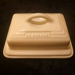 Le Creuset Light Grey Butter Dish