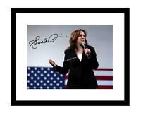 Kamala Harris 8x10 Signed photo presidential candidate democrat president 2020