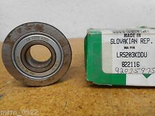 INA LR5203KDDU 822116 Double Row Ball Bearing 17mm ID 47mm OD New Old Stock
