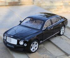 Rastar 1:18 Bentley Mulsanne Alloy Static Car Model Almost Real Men Gift Display