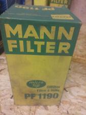 Original MANN-FILTER Ölfilter Oelfilter PF 1190 x Oil Filter