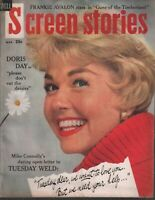 Screen Stories March 1960 Doris Day Mike Connolly Frank Avalon 110119AME
