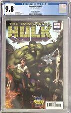 Immortal Hulk #1 Cgc 9.8 Dale Keown Midtown Comics Exclusive Variant Cover!