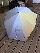 Senz° Original Umbrella - in a Silver Upper and a Black Under Side
