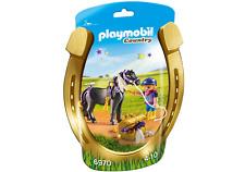 playmobil COUNTRY Et° 6970 Poney de bijoux ASTÉRISQUE ~ Cheval avec Cavalière