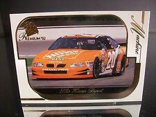 Parallel Tony Stewart #20 Home Depot Press Pass Premium 2002 Card #44 MACHINE