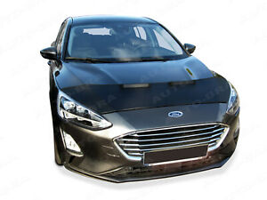 CAR HOOD BONNET BRA fit Ford Focus 2014 - 2018  NOSE FRONT END MASK TUNING