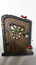 Christmas Fairy door, Elf door, mouse door, Gnome door