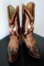 Botas vaqueras SENDRA ( Cowboy Western boots metal cap ) T. 43 EUR / UK 9
