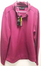 Under Armour UA Golf Outerwear Pullover Hot Pink Storm L Water Resistant