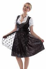 NEU Dirndl Set 3tlg Dirndl Set Trachtenkleid Kleid Bluse Schürze Gr. 32 bis 60