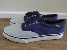 Lacoste Live Barbados SE shoes sneakers Grey/purple uk 8 eu 42 us 9 new with tag
