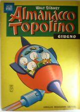 Almanacco Topolino 1963 n. 6 Giugno Edizioni  Mondadori