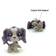 Littlest Pet Shop LPS Toys #672 Cocker Spaniel Dog Girl Gift Flowers Eyes