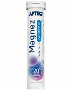 Magnez Forte Extra With Vitamin B6 - 20 effervescent tablets