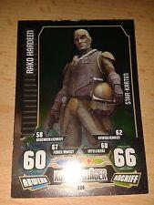Force Attax Star Wars Serie 3 Star-Karte 224 Rako Hardeen Sammelkarte