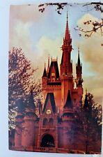 Walt Disney World Fantasyland Cinderella Castle Postcard Old Vintage Card View