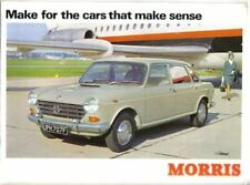 Morris Range Mini Cooper Minor 1000 1100 1300 Oxford 1800 1968-69 UK Brochure
