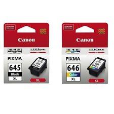 2pcs Canon Genuine Ink PG645XL CL646XL High Yield Capacity MG2960 MG2965 Printer