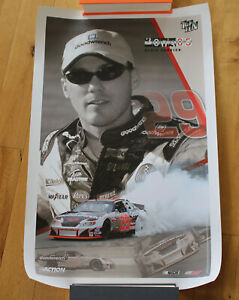 """Kevin Harvick 2003 Action GM Goodwrench Service Top 10 Finisher Poster 18""""x28"""""""