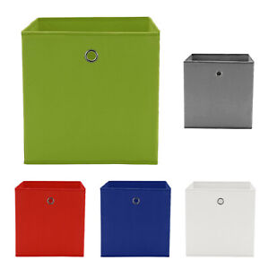 4er Set Faltbox Regalbox Faltkiste Box Aufbewahrungsbox Kiste Kinder Staubox