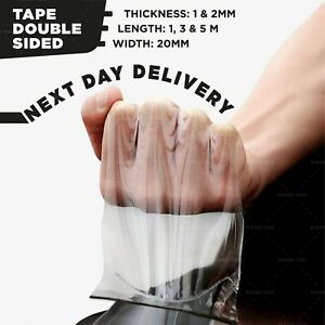 Nano Magic Tape Gel Grip Double Sided Traceless Removable Washable Adhesive