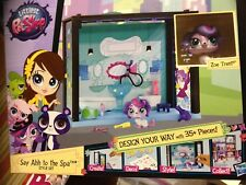 NEW! LITTLEST PET SHOP SCENE (Say Ahh to Spa) with ZOE TRENT Sweet Puppy   #3708