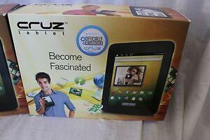Velocity Micro Cruz T301 2GB, Wi-Fi, 7in - Black, Officially Refurbished