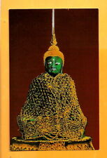 THAILAND  VINTAGE POSTCARD-   EMERALD  BUDDHA.. BANGKOK...