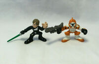 Star Wars Galactic Heroes Luke Skywalker & Clone Trooper Action Figures - Hasbro