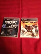 Call Of Duty Ghost & Twisted Metal- Ps3 L@@K