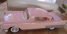 Jo-Han 1958 Cadillac Fleetwood 4 Door HARDTOP Pink  PROMO 1:25  X-EL PRODUCTS