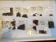 Swarovski Crystal Beads Smokey Topaz Beads And Brown Pearls