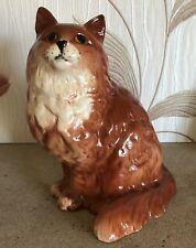 "BESWICK PERSIAN CAT GINGER GLOSS MODEL  No 1867 VERY LARGE SIZE 8.5"" PERFECT"