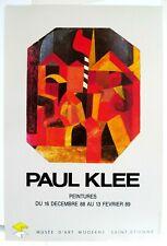 Affiche originale Paul KLEE 40 x 60 cm, Poster Arts