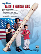 My First Patriotic Recorder Book-BRAND NEW ON SALE MUSIC BOOK-METHOD-INSTRUCTION